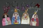 Divina Pastora, Chiquinquira, Rosa Misticay Coromoto