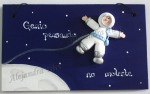 letrero astronauta
