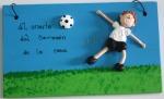 letrero futbol