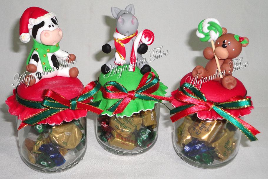 Navidad artes ale pintura country manualidades for Manualidades souvenirs navidenos